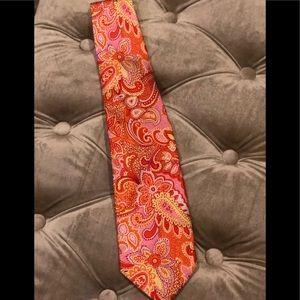 Vera Bradley For Baekgaard collection men's tie.
